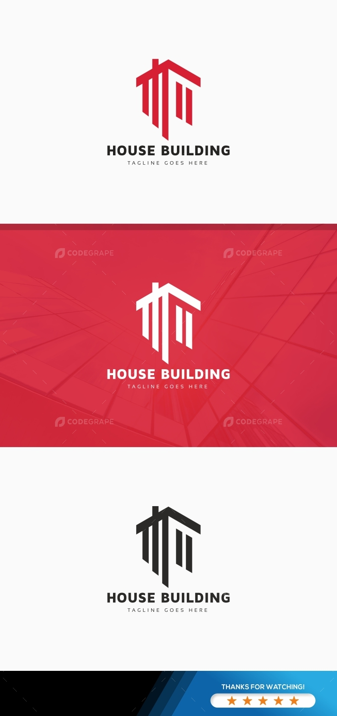 House Building Logo