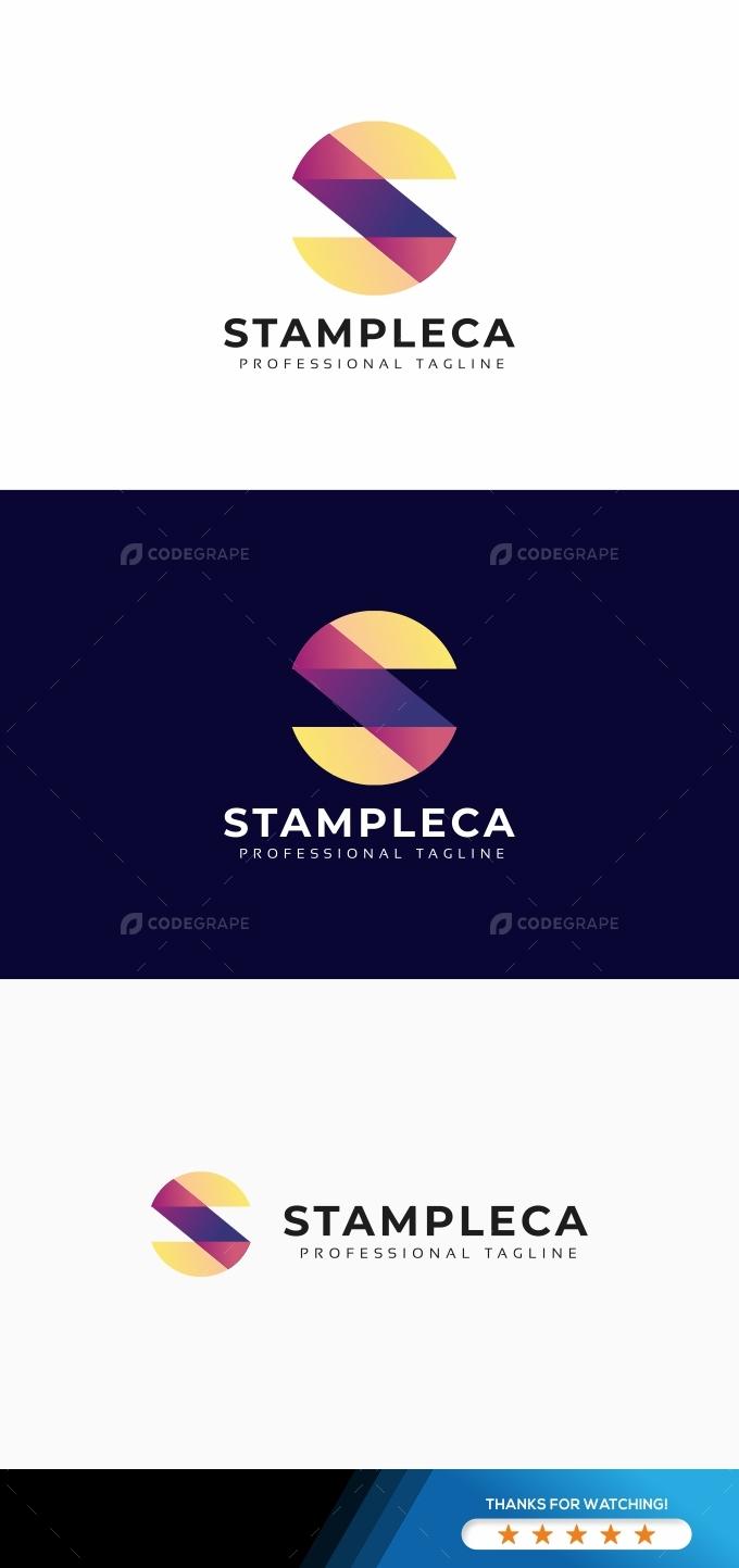 S Letter Colorful Logo