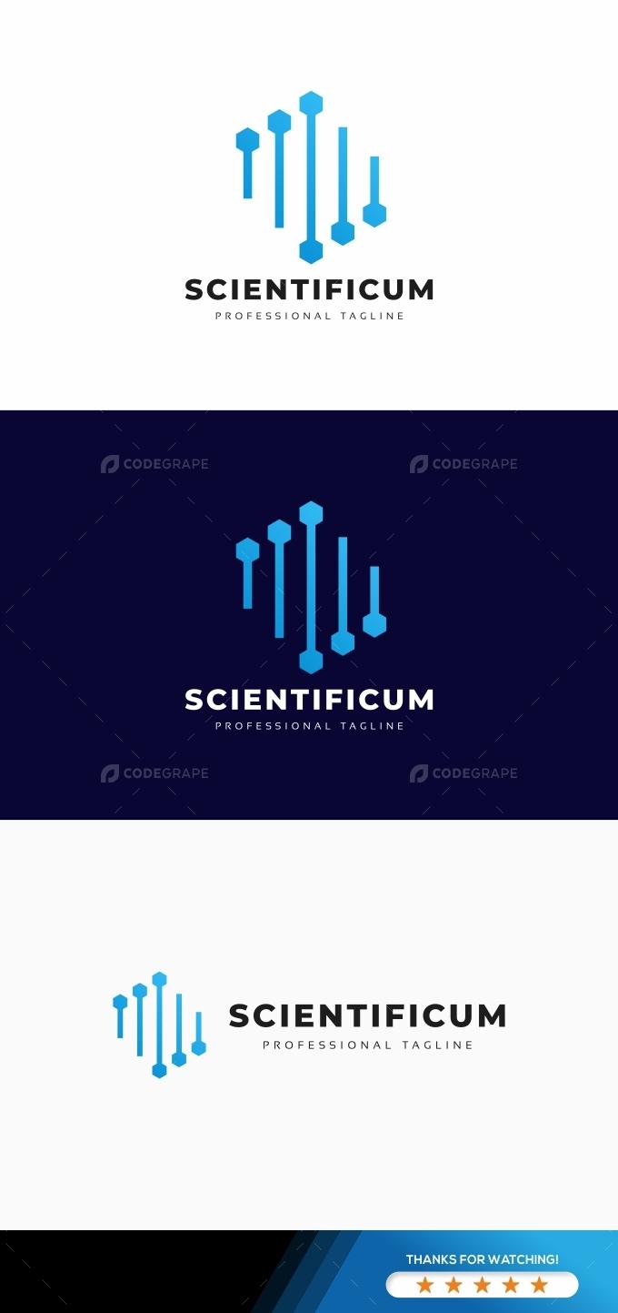 Scientific Hexagon Logo