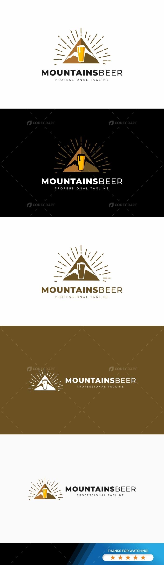 Mountains Beer Logo