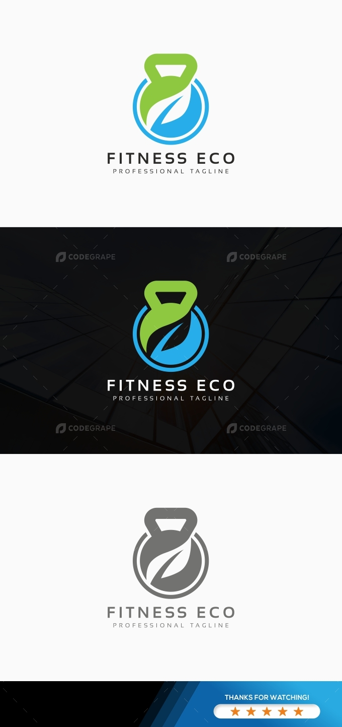 Fitness Eco Logo