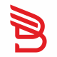 B Letter Wings Logo