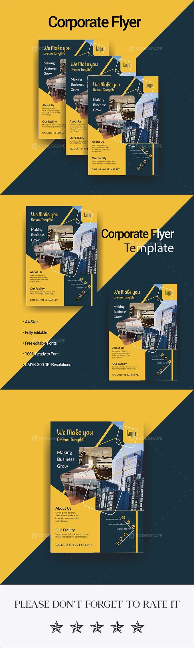 Modern & Creative Corporate Flyer Template