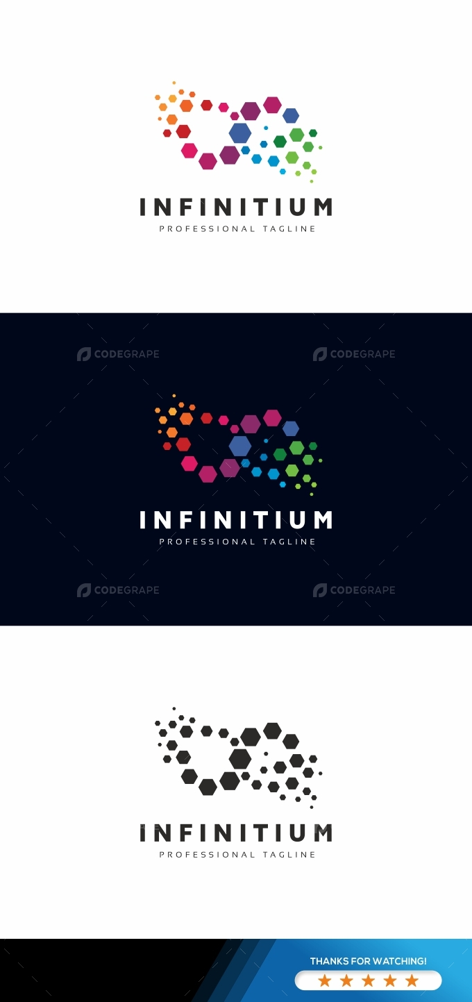 Infinity Colorful Logo