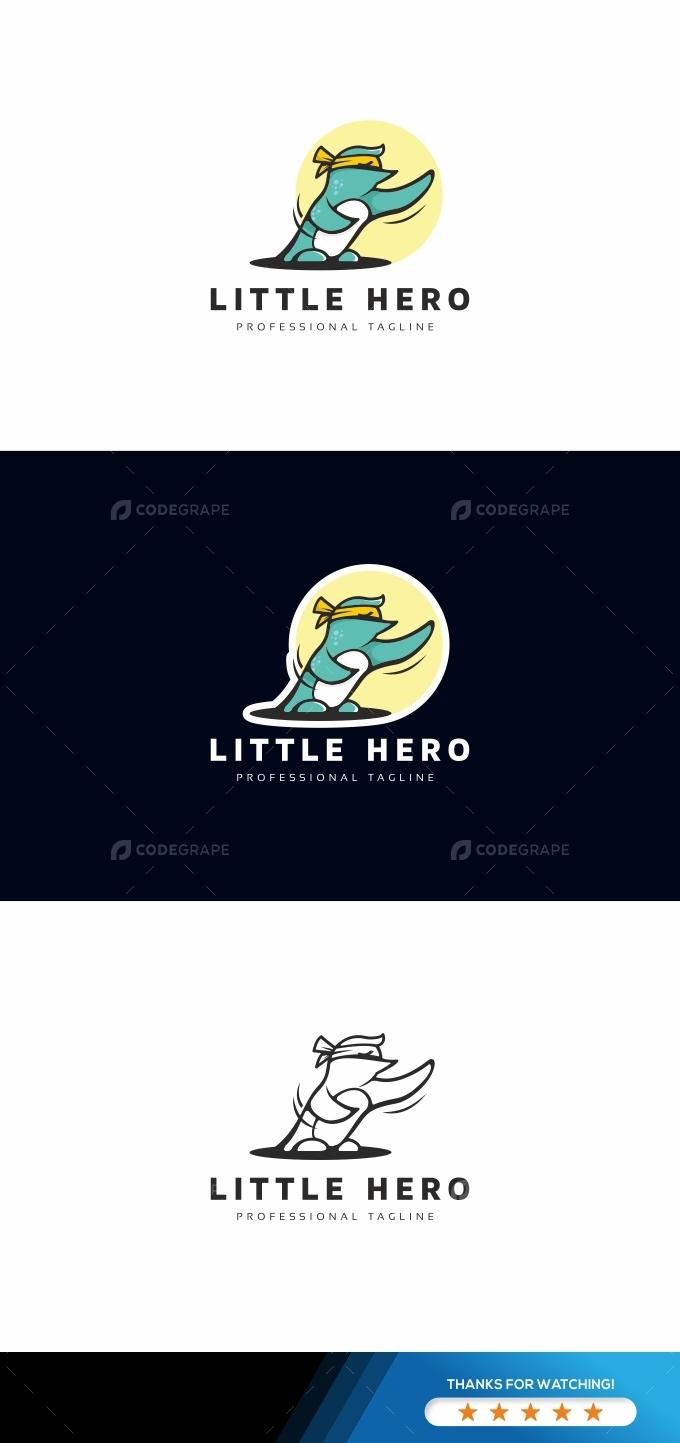 Pinguin Logo Template