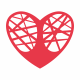 Heart Tree Logo Template