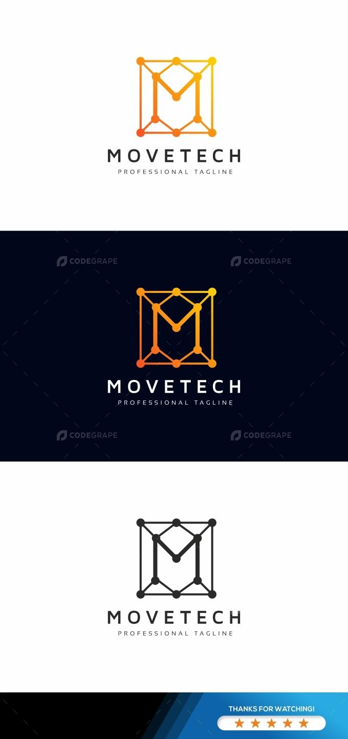 Movetech M Letter Logo