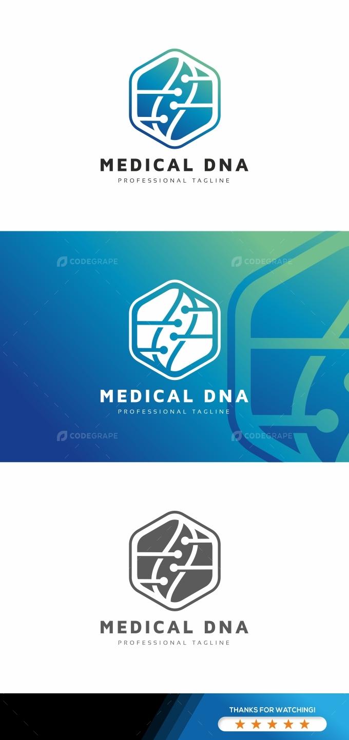 Medical Dna Logo