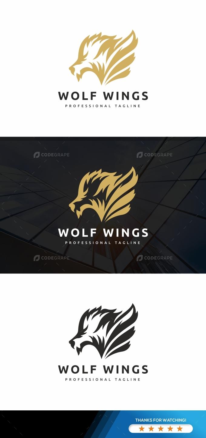 Wolf Wings Logo