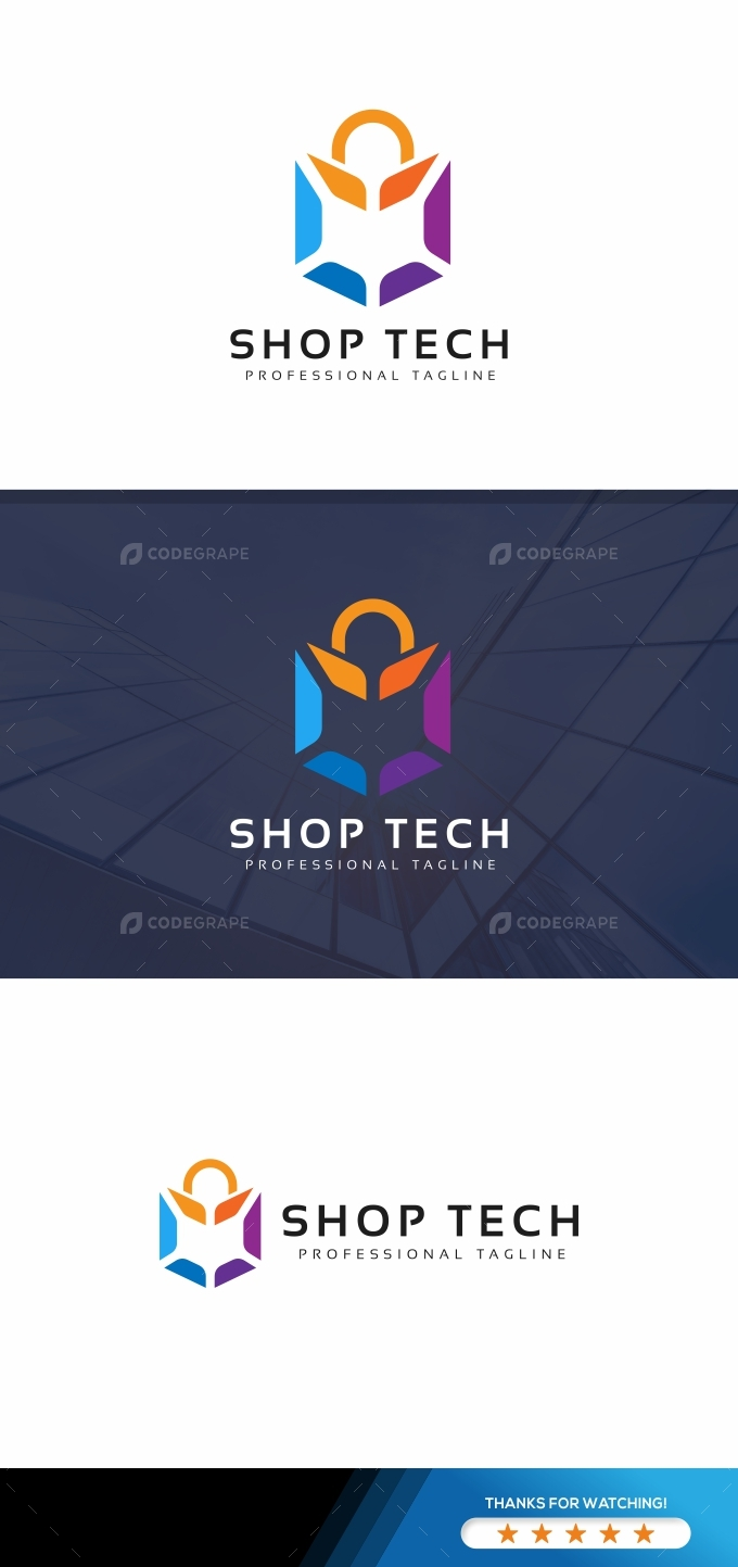 Shop Tech Logo