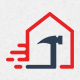 Fast House Repair Logo
