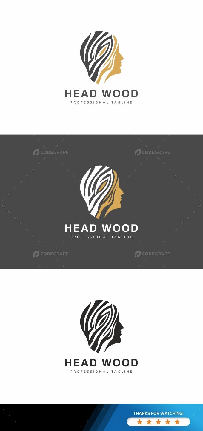 Head Wood Logo
