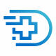 Data Medical Cross Logo