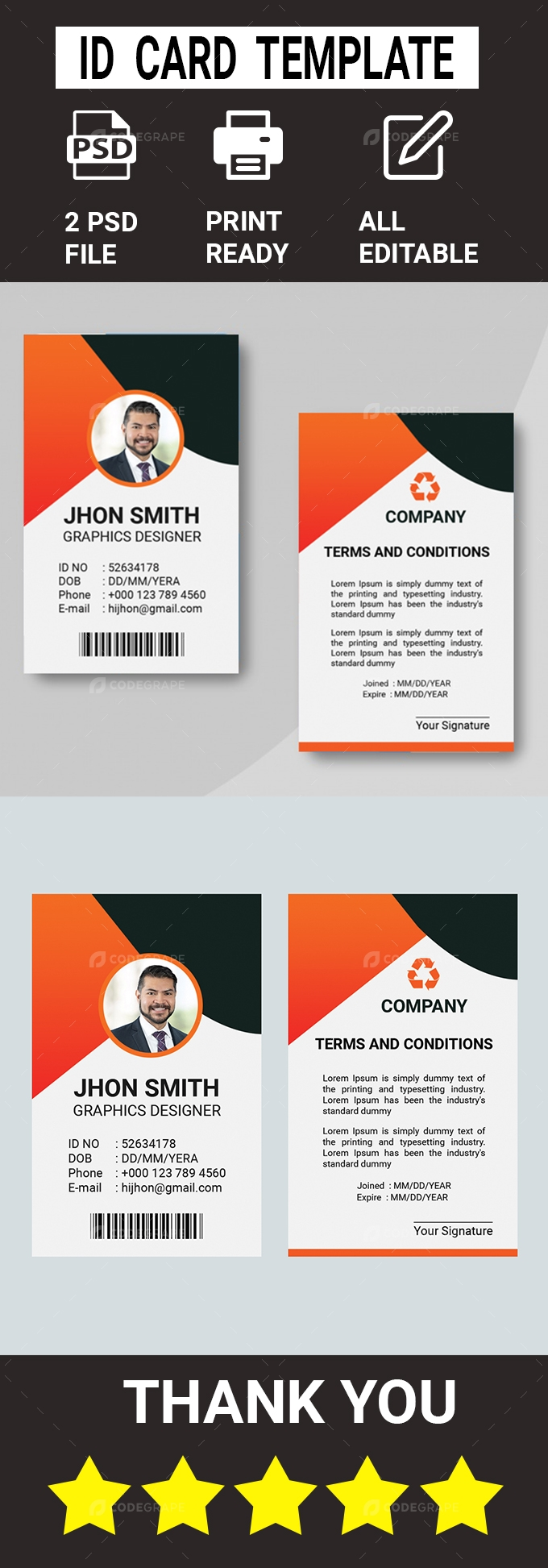ID Card Template