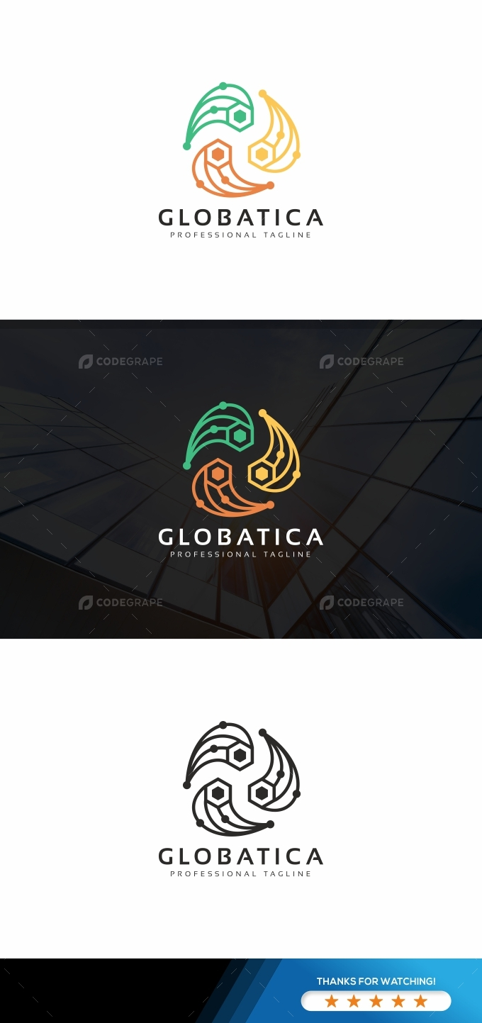 Global Rotation Logo