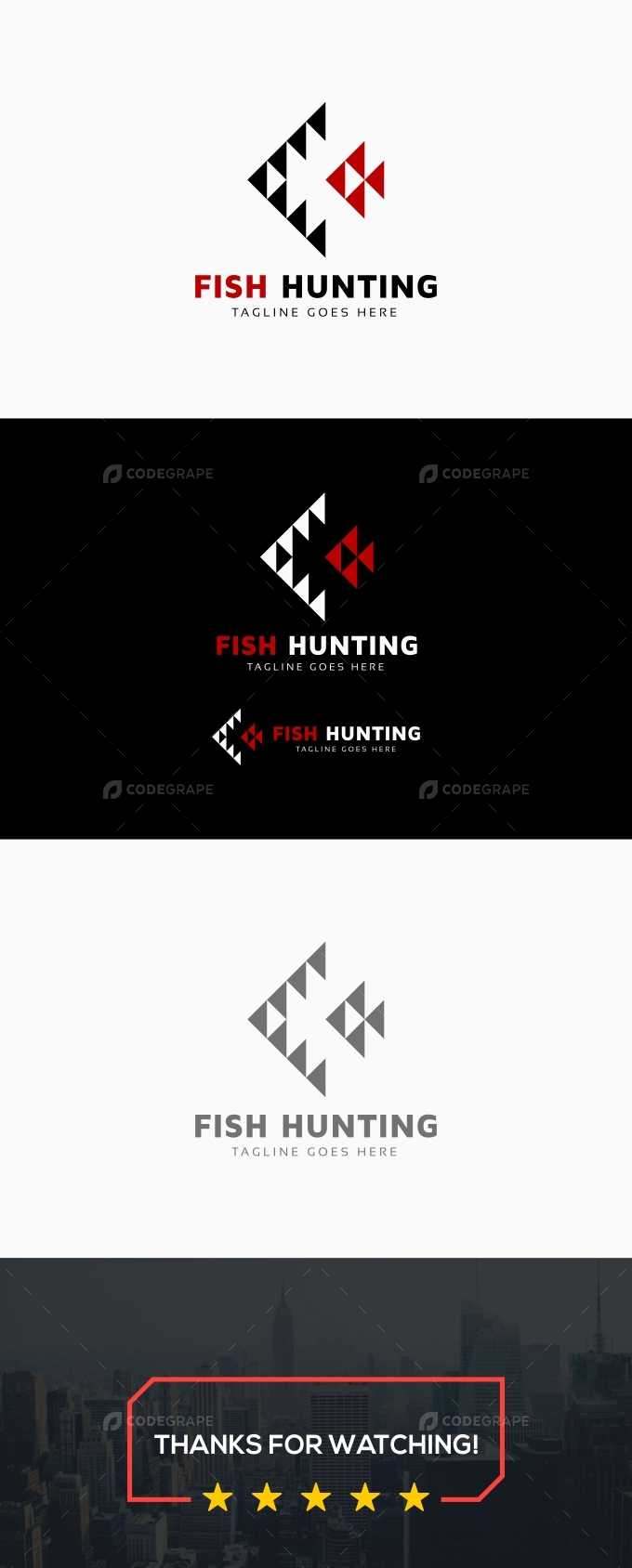 Fish Hunting Logo