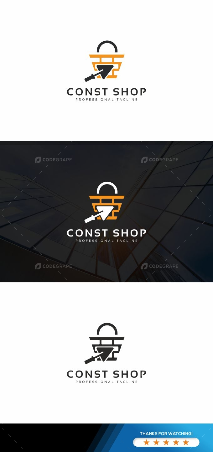 Construction Shop Logo