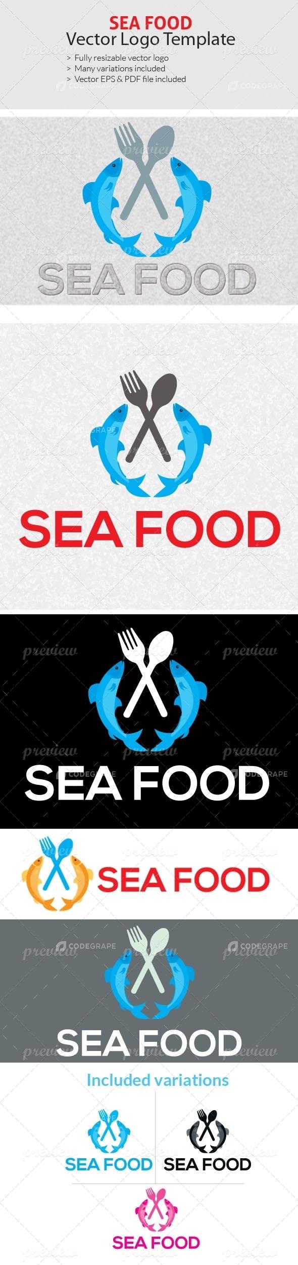 Sea Food Logo Templates