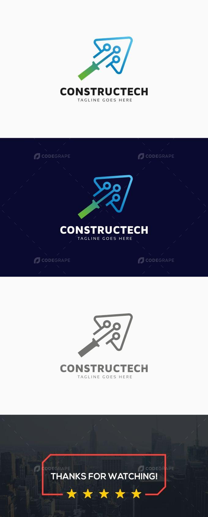 Construction Tech Logo