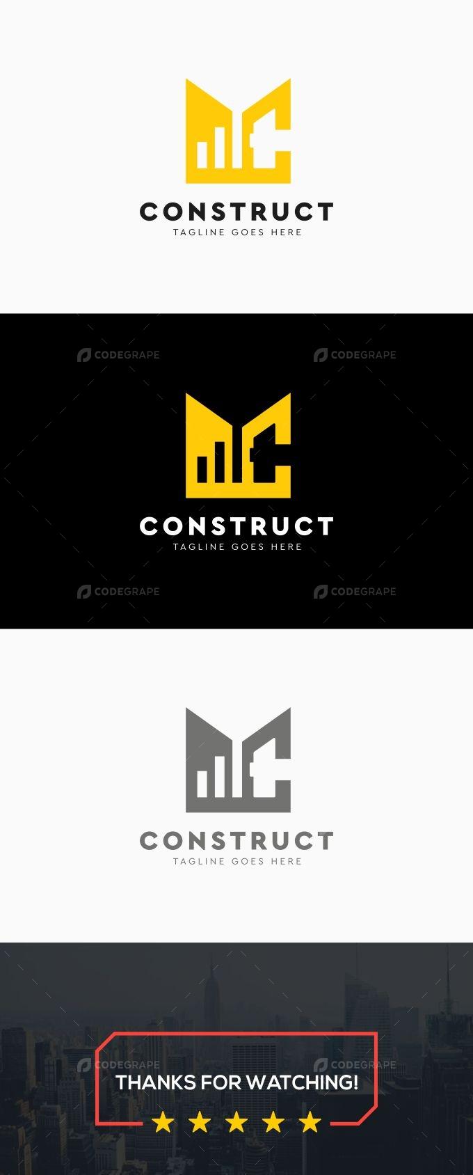 Construction Hammer Logo