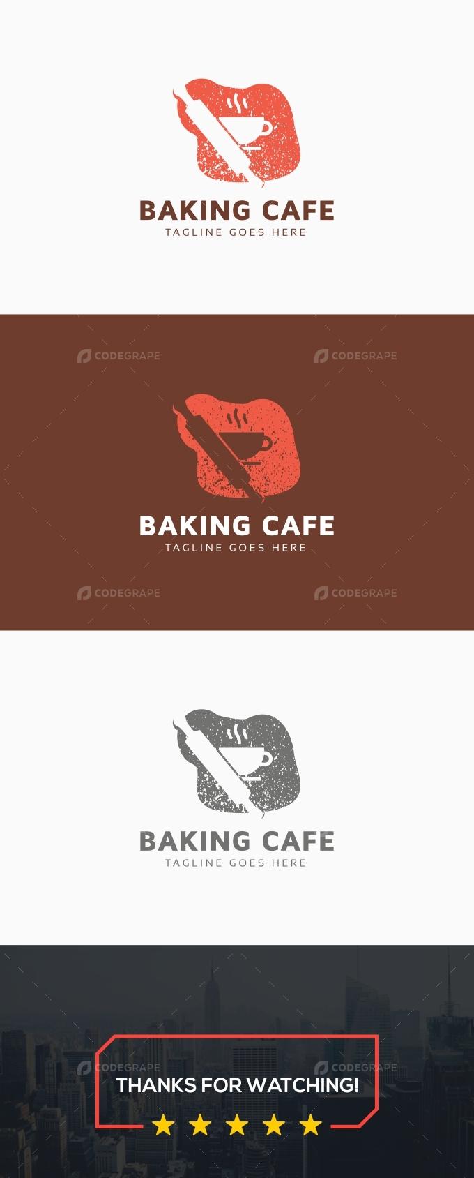 Baking Cafe Logo