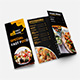 Fast Food Tri-Folded Brochure