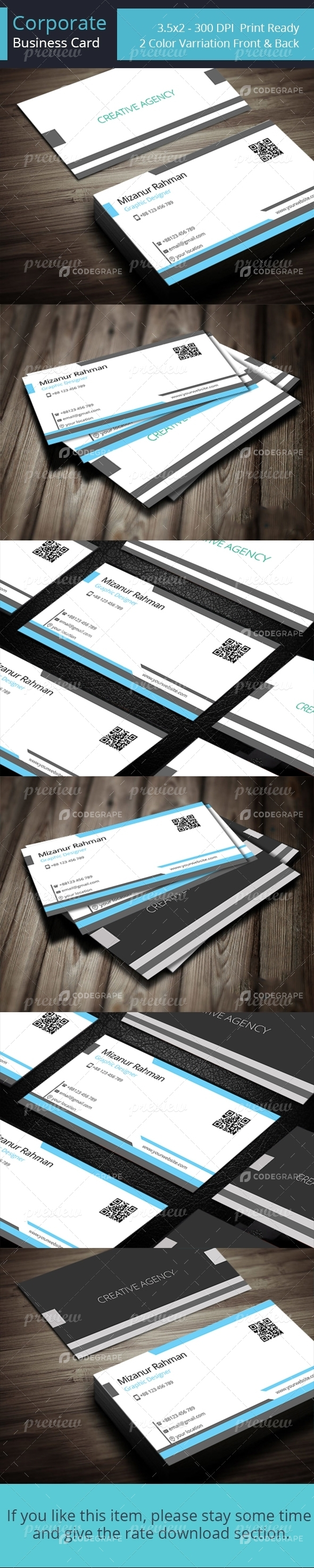 Corporate Business Card Vol 04