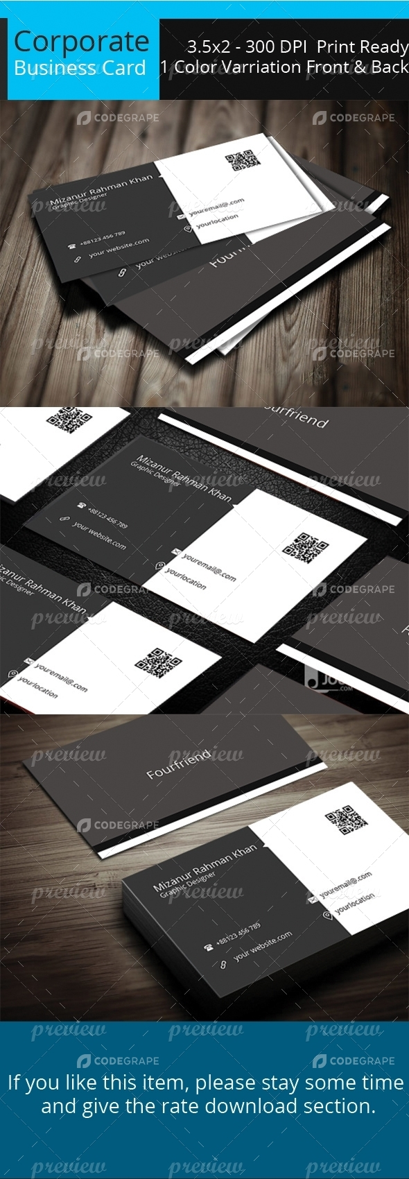 Corporate Business Card Vol 05
