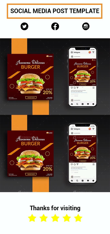 Social Media Banner Design Template