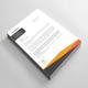 Corporate Letterhead Design Vector