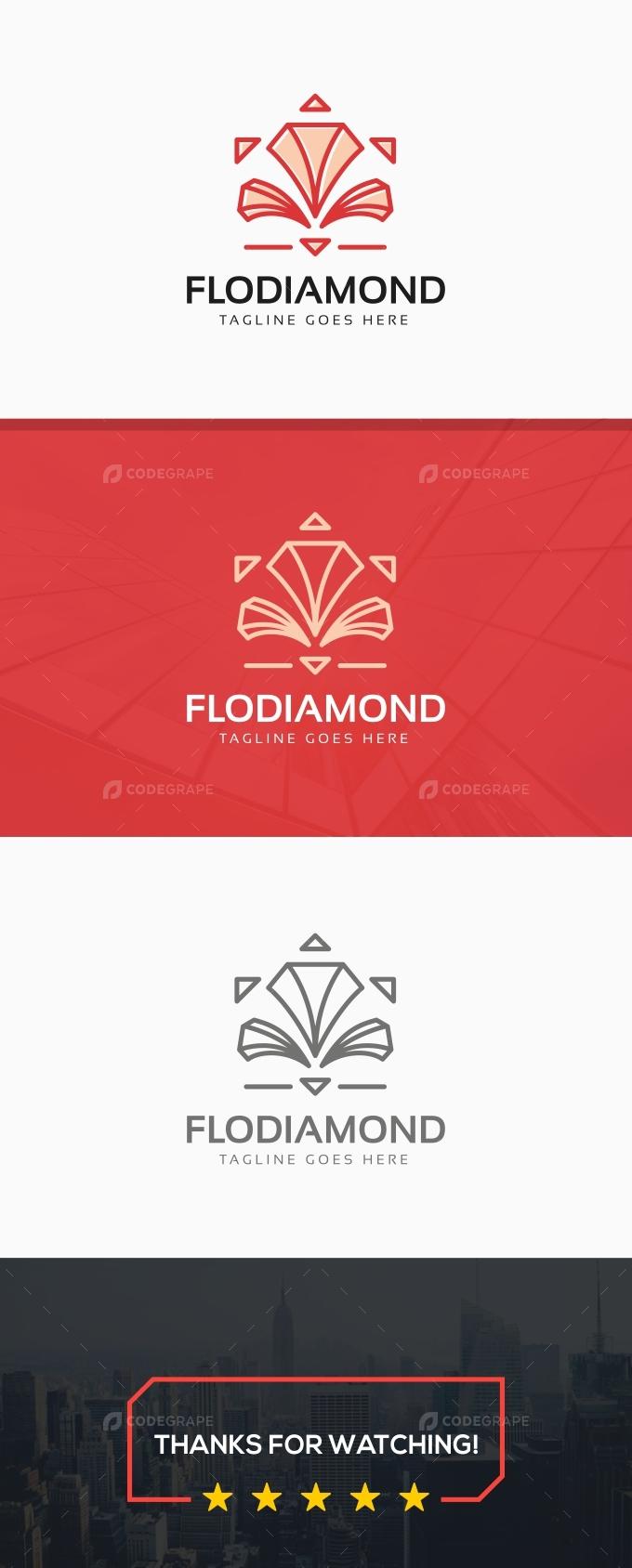 Flower Diamond Logo