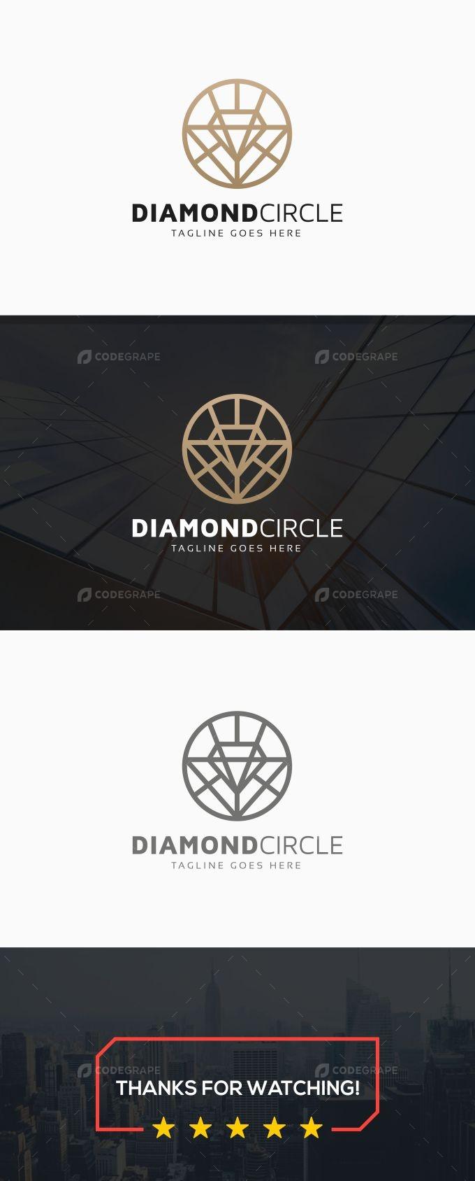 Diamond Circle Logo