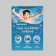 Pool Cleaning Service Flyer