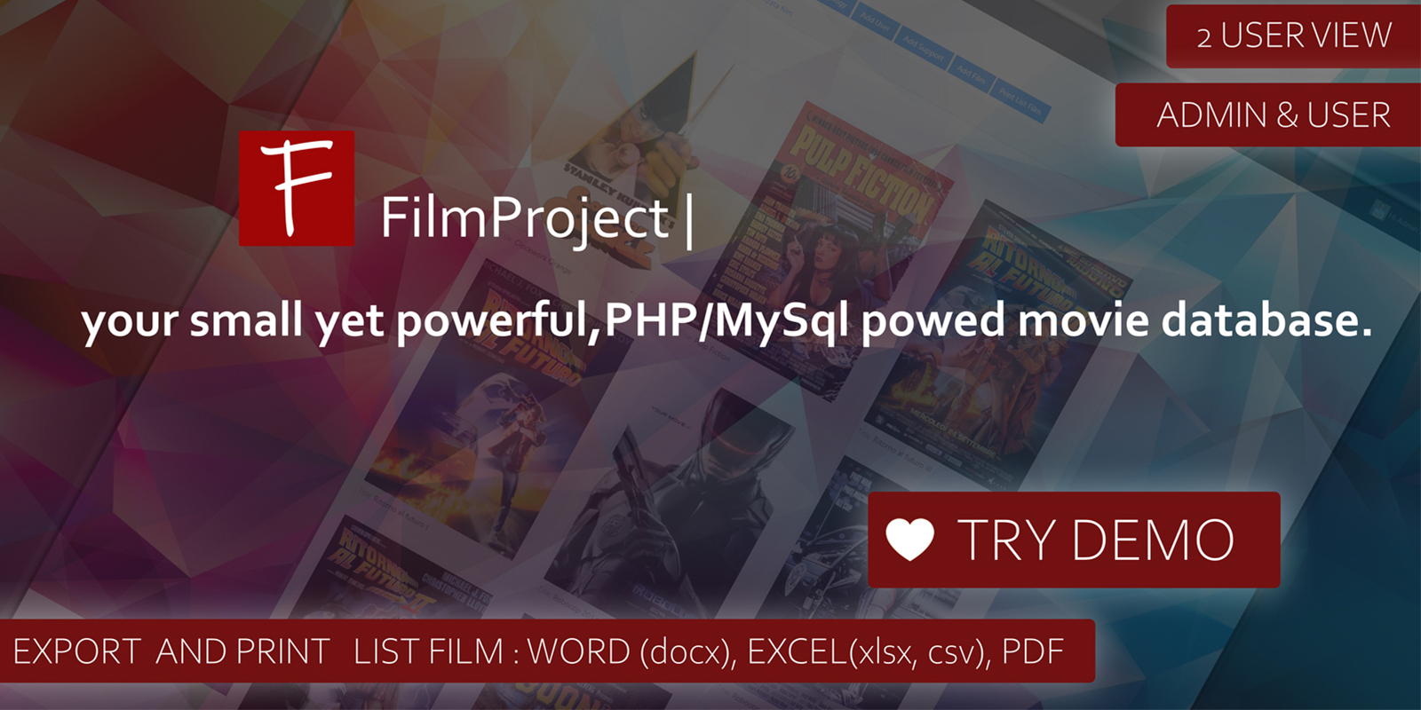 FilmProject Script | Collection Film