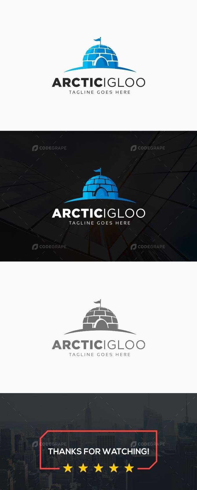 Arctic Igloo Logo