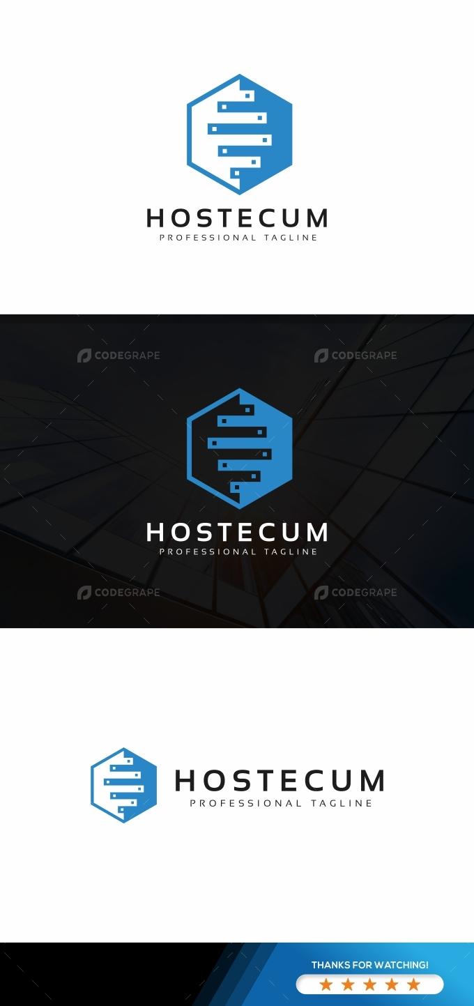 Hosting Hexagon Logo