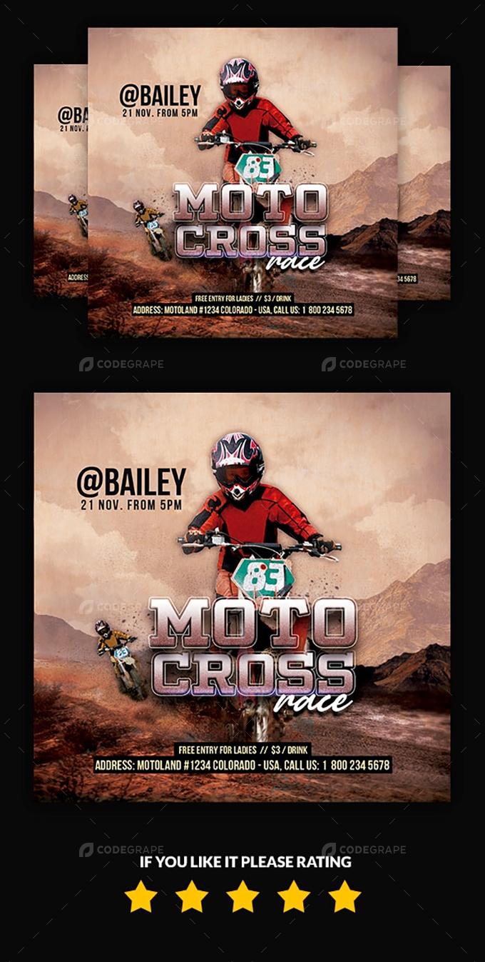 Motocross Race Flyer