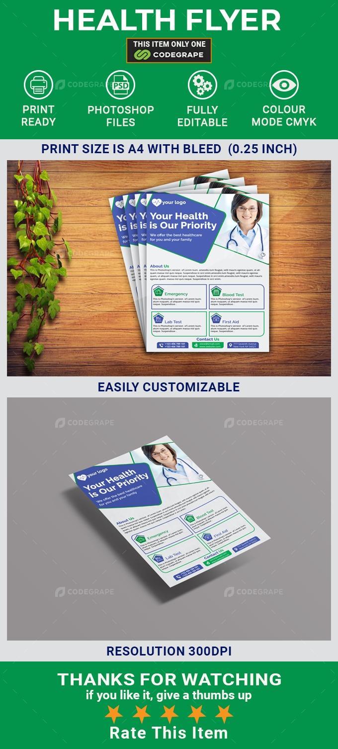 Health Business Flyer