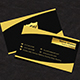 Business Card (Gold Version)