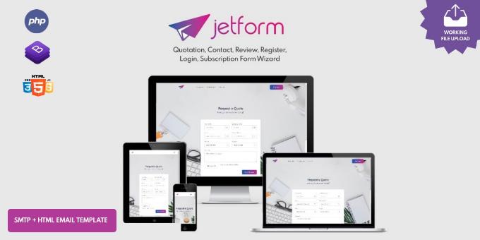 JetForm Multipurpose Form Wizard