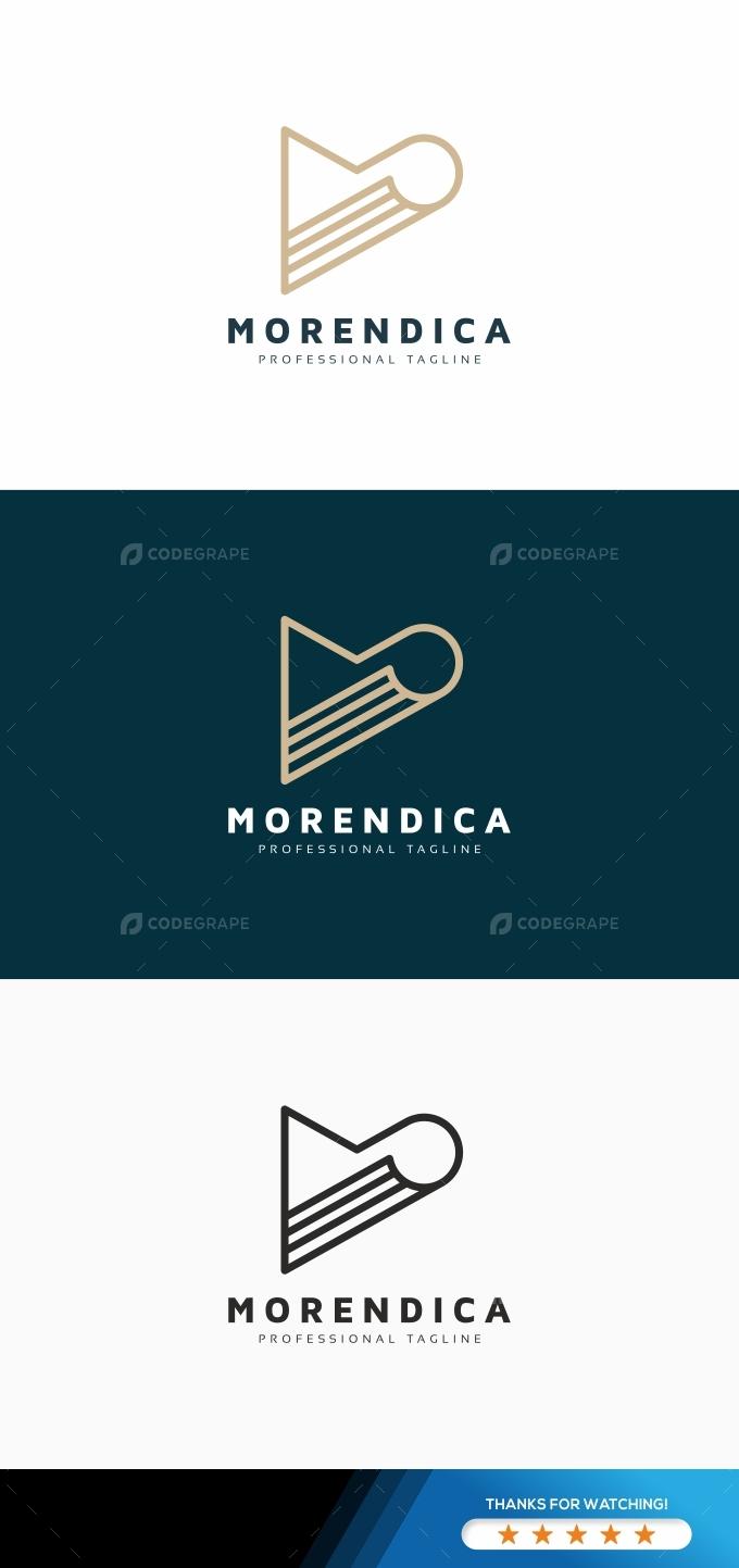 Morendica M Letter Logo