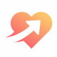 Arrows Heart Logo