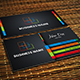 Creative Horizontal and Vertical Business Card