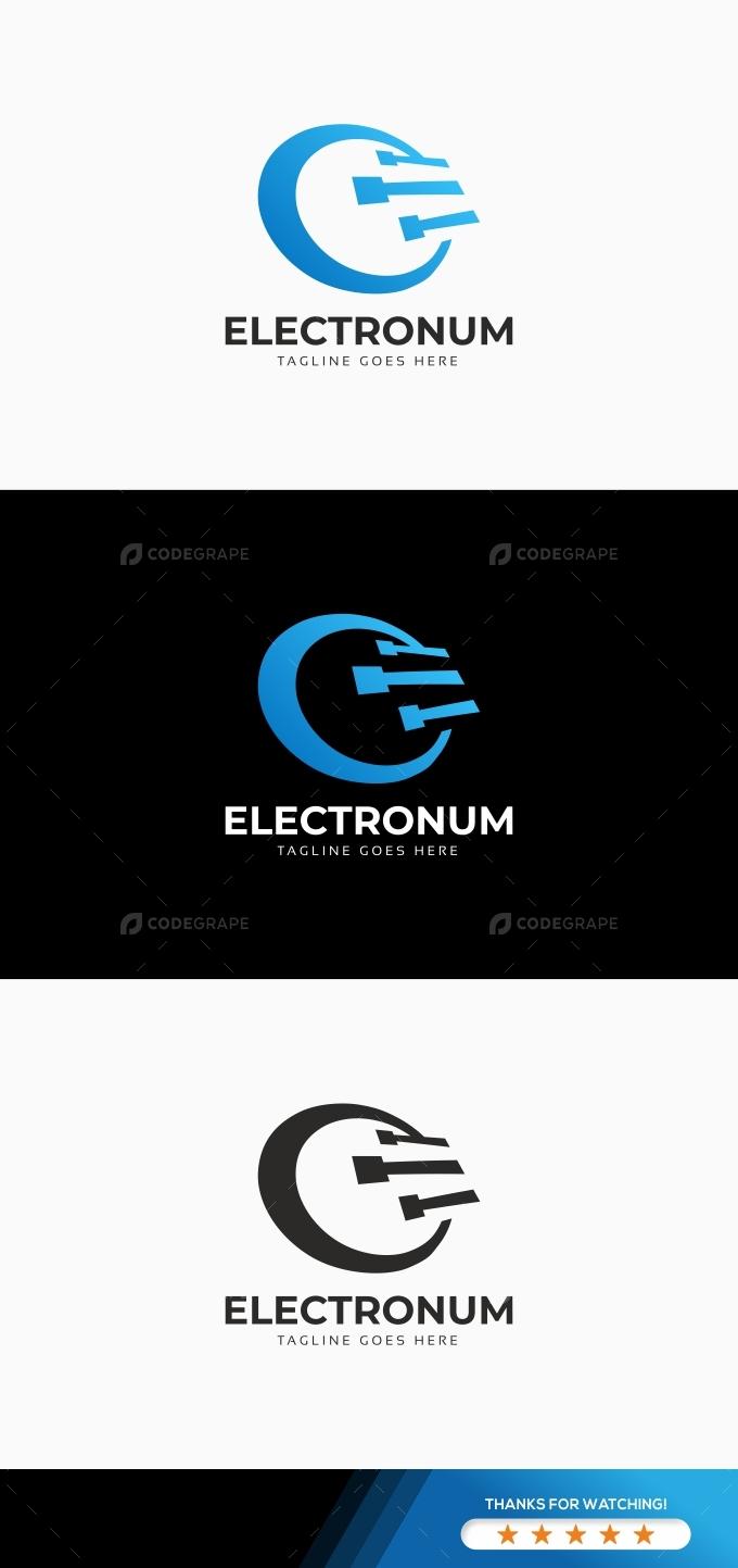 E Letter Technology Logo