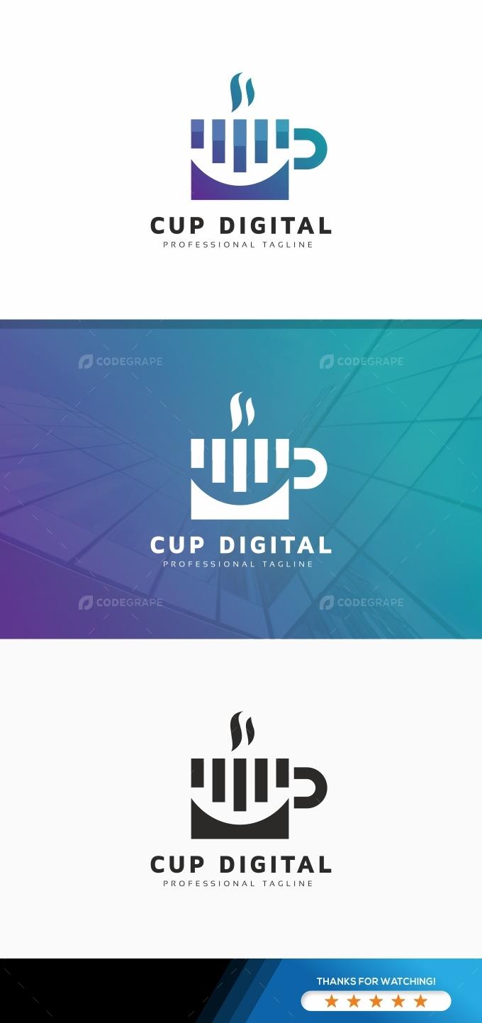 Cup Digital Logo