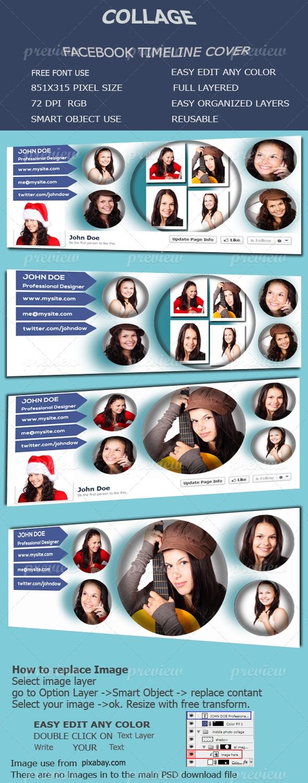 Collage Facebook Timeline Cover