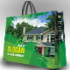 Shopping Bag Packaging V 02