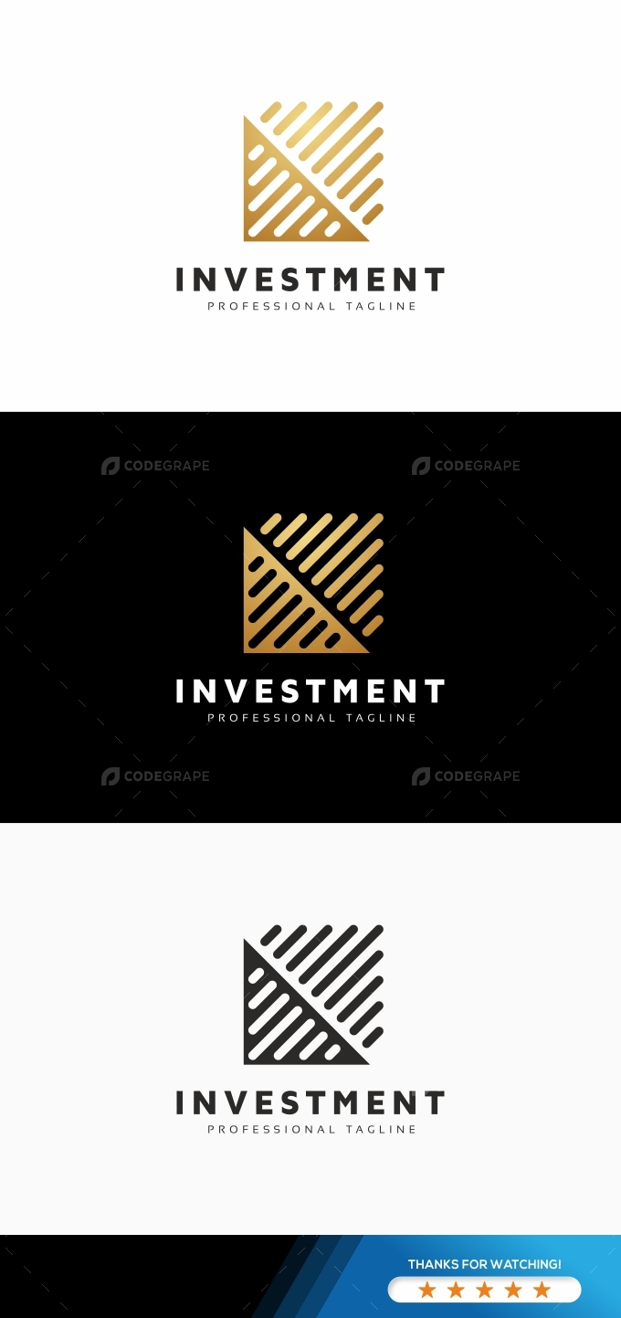 Investment Arrows Logo