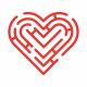 Heart Maze Logo