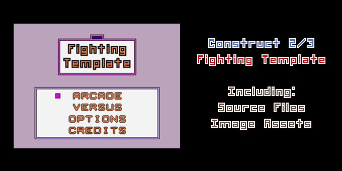 Fighting Game Template | Construct 2/3